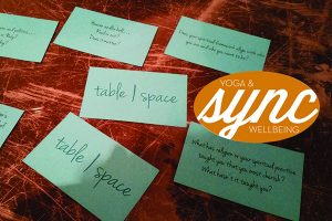 Table Space Yoga August